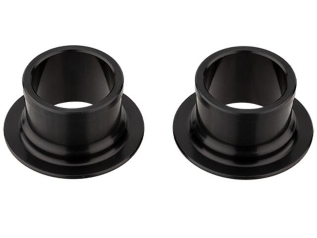NEWMEN E-MTB Endkappenset Ø15mm für Gen2 Vorderradnaben black anodized